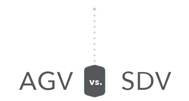 Automated guided vehicle vs SDV
