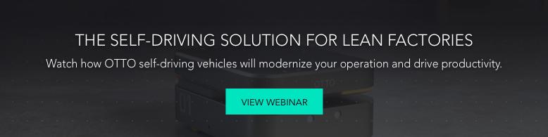 CTA - Self Driving Solution Webinar