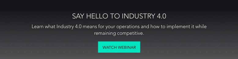 CTA - Say Hello Industry 4.0 - Webinar