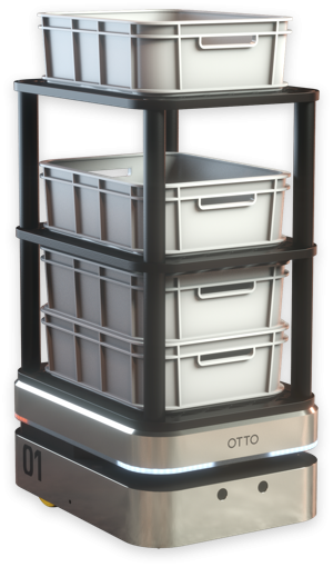 otto 100 transporting shelves