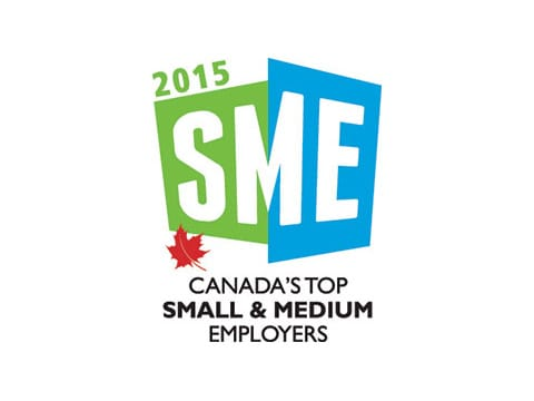 Canada's Top Small & Medium Employers logo