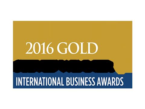 International Business Awards - 2016 Gold Stevie logo